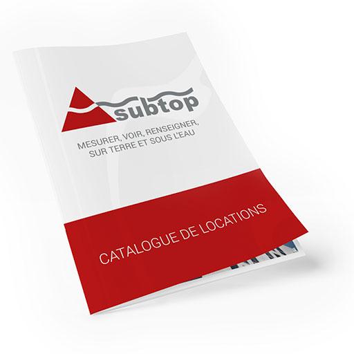 Catalogue du matériel en location SUBTOP